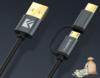 Кабель микро USB type-C 2 в 1